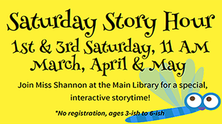 Saturday Story Hour