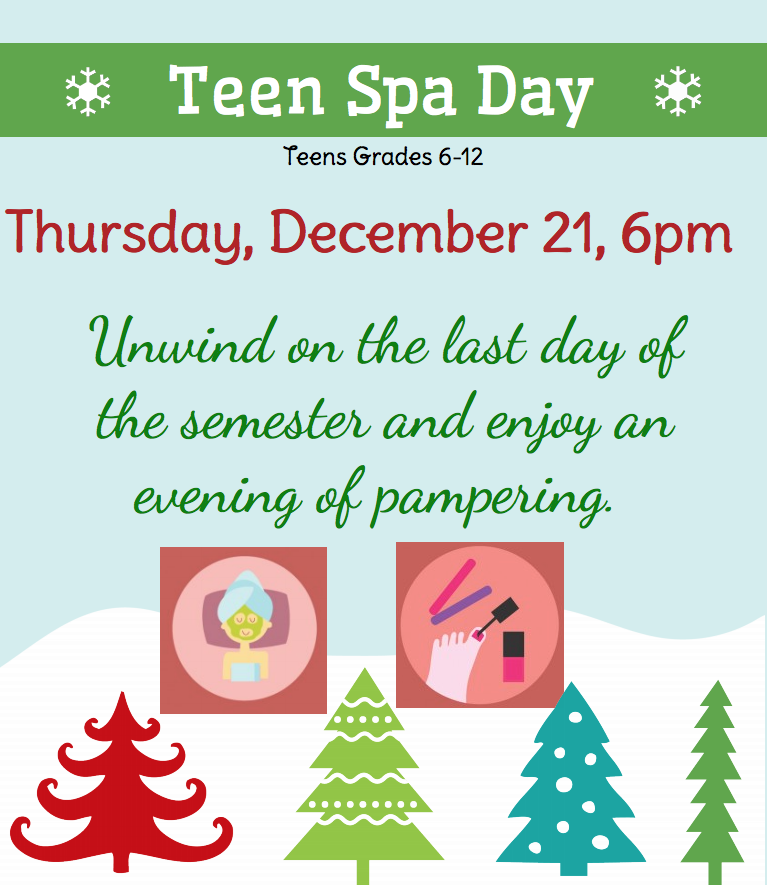 Teen Spa Day