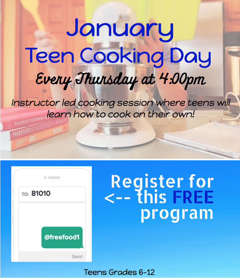 Teen cooking Day