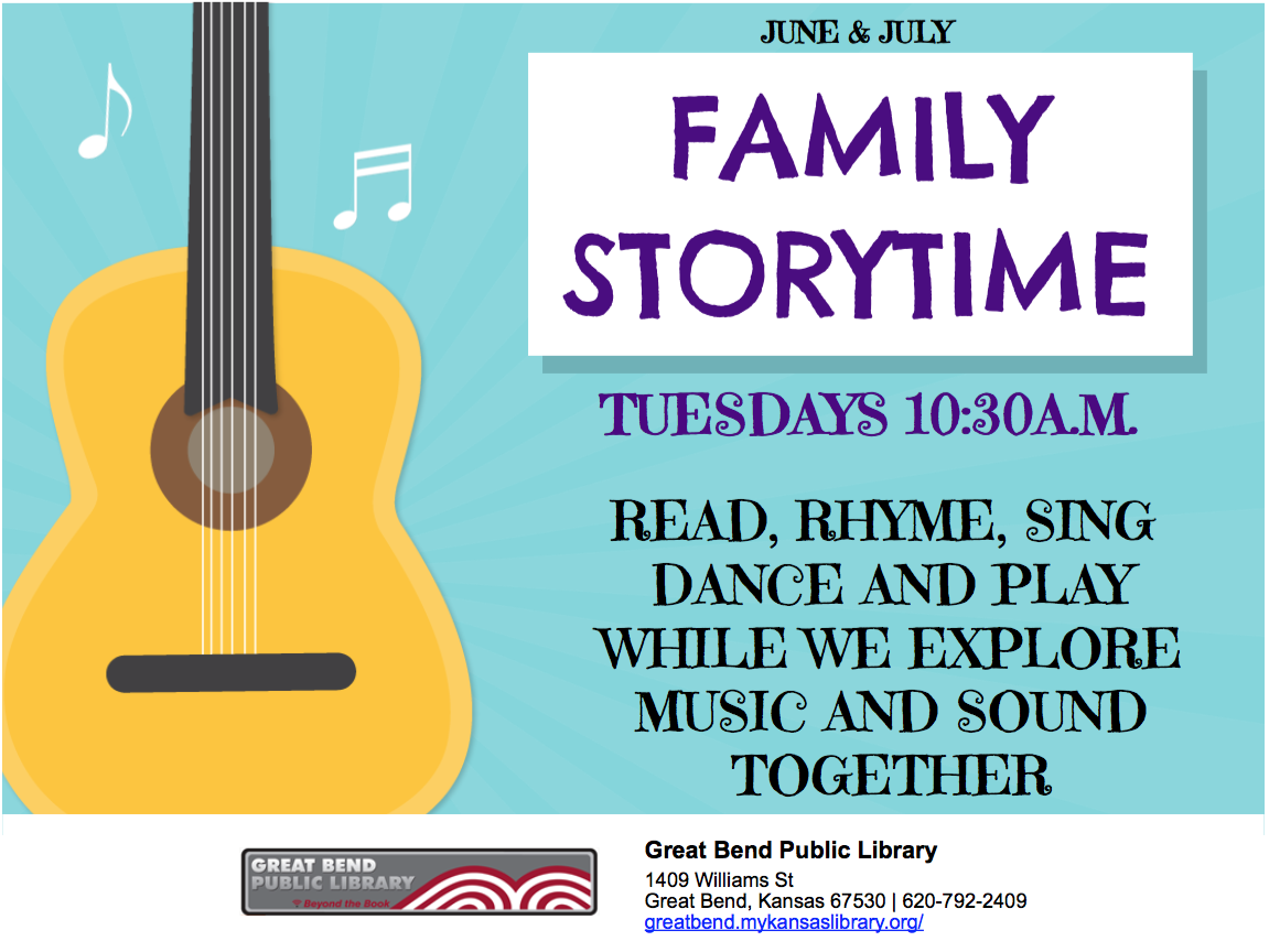 Family Storytime ( Music Exploration)