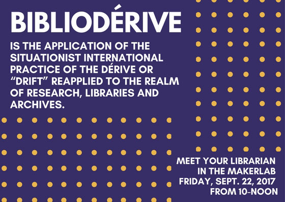 Biblioderive: Meet Your Librarian