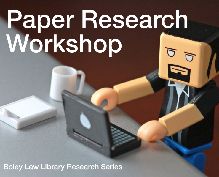 Finding and Researching Your Paper Topics: Tips, Tools, & Tactics