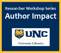 Showcase Your Impact as an Author/Creator and Tell Your Research Story  (Researcher Workshop Series)