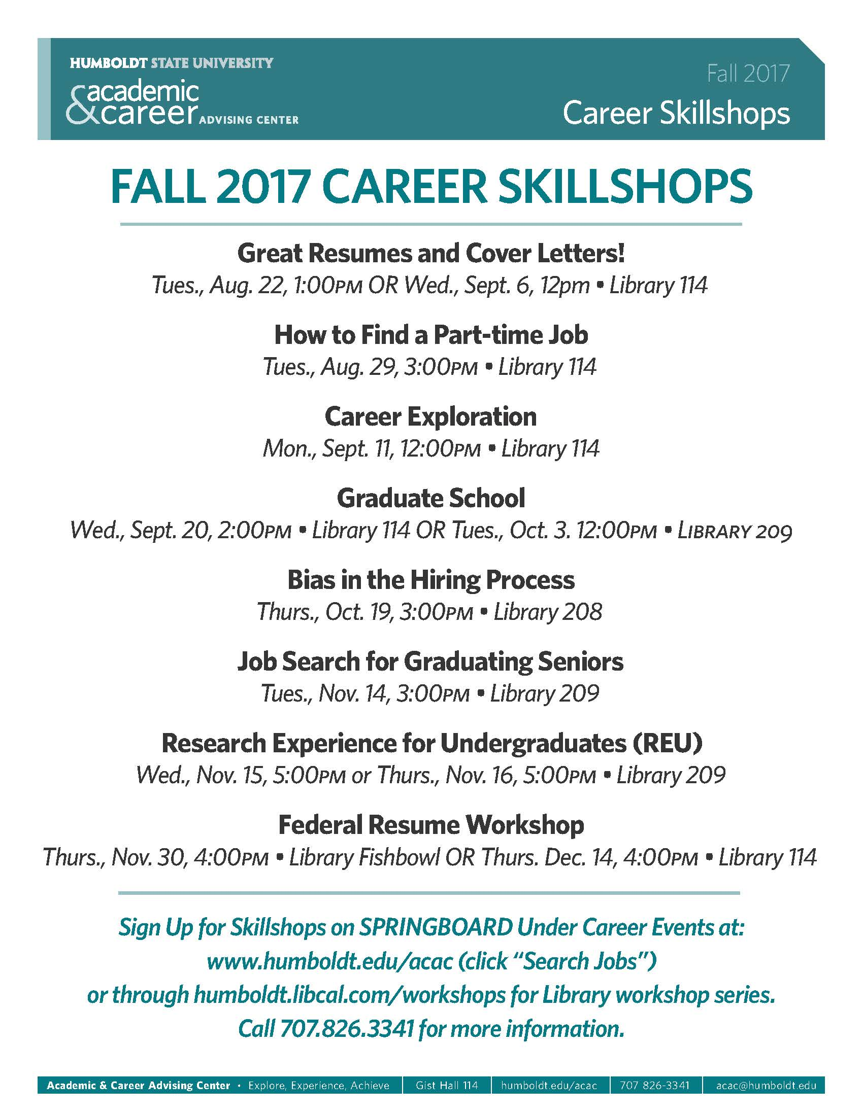 Job Searching for Graduating Seniors