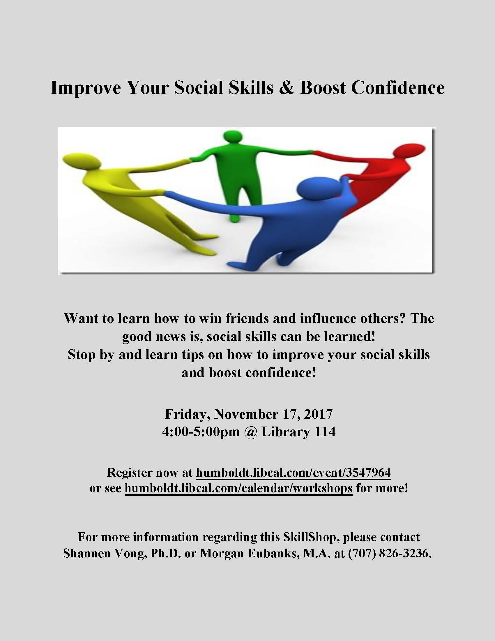 Improve Your Social Skills & Boost Confidence