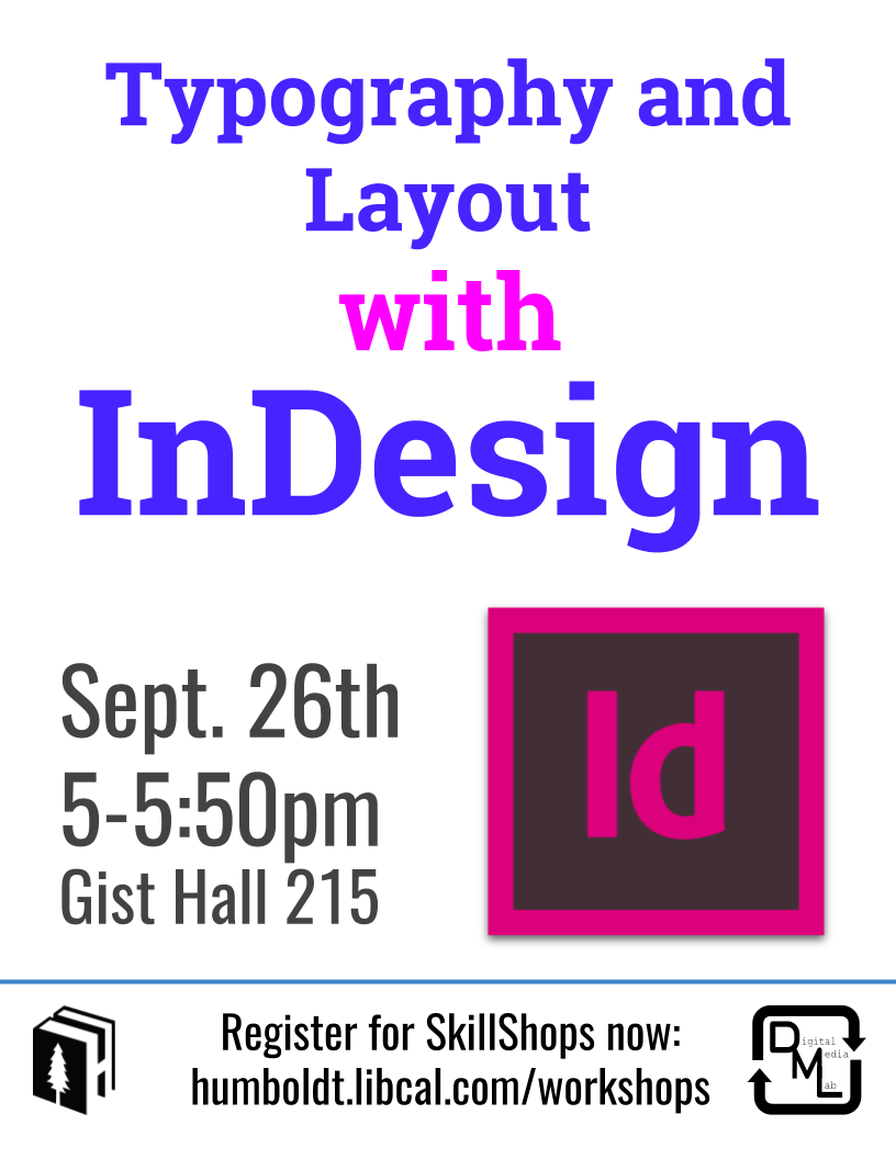 Typography & Layout with Adobe InDesign