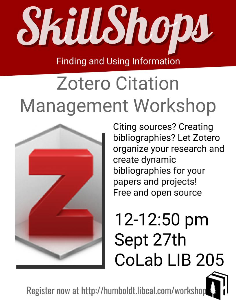 Zotero - Citation Management