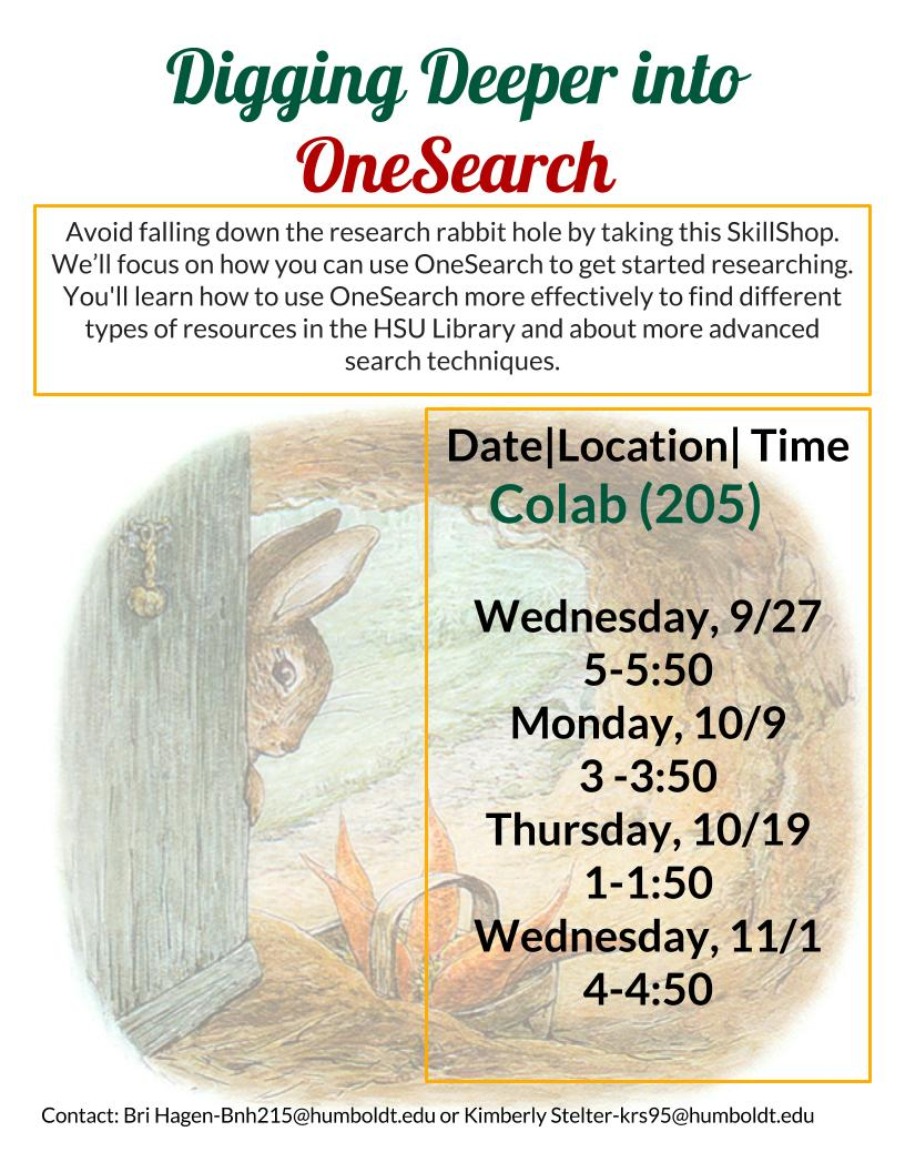 Digging Deeper into OneSearch