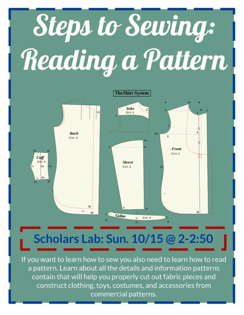Steps to Sewing: Reading a Pattern