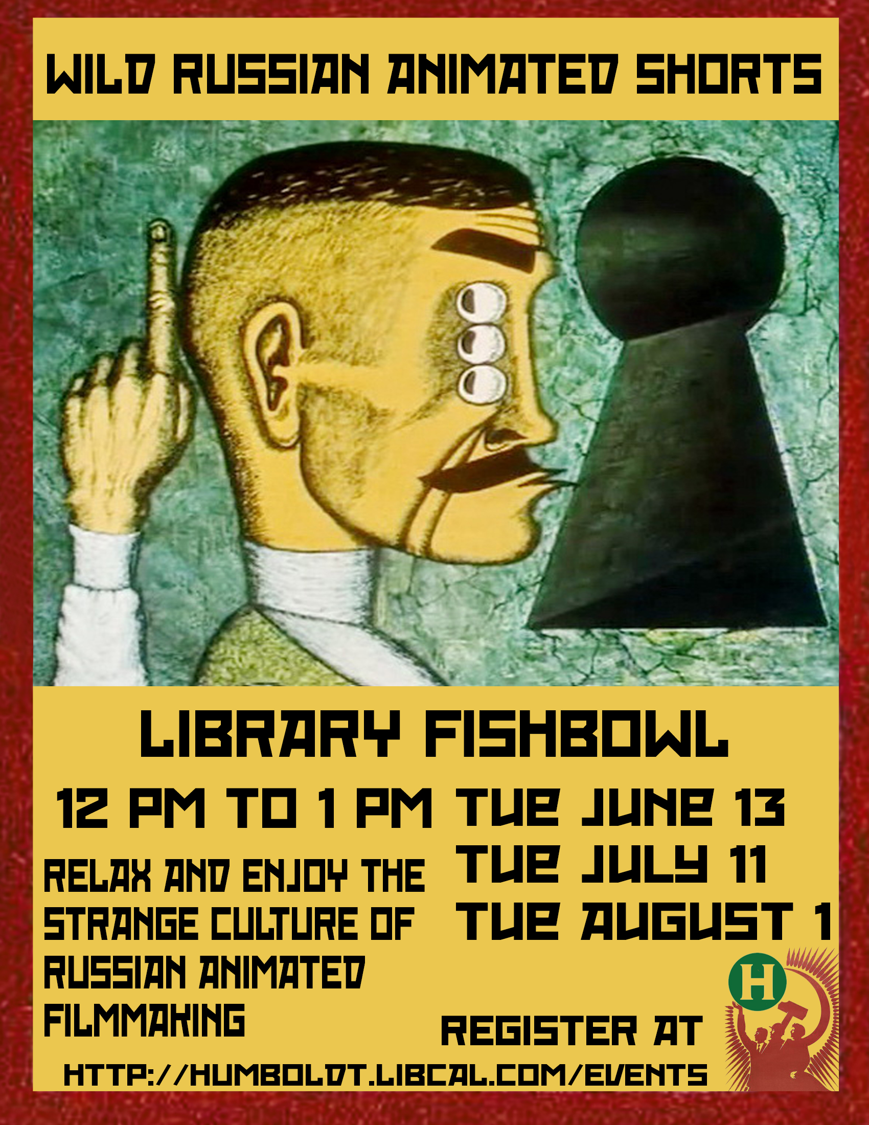 Film Screening: Wild Russian Animated Shorts