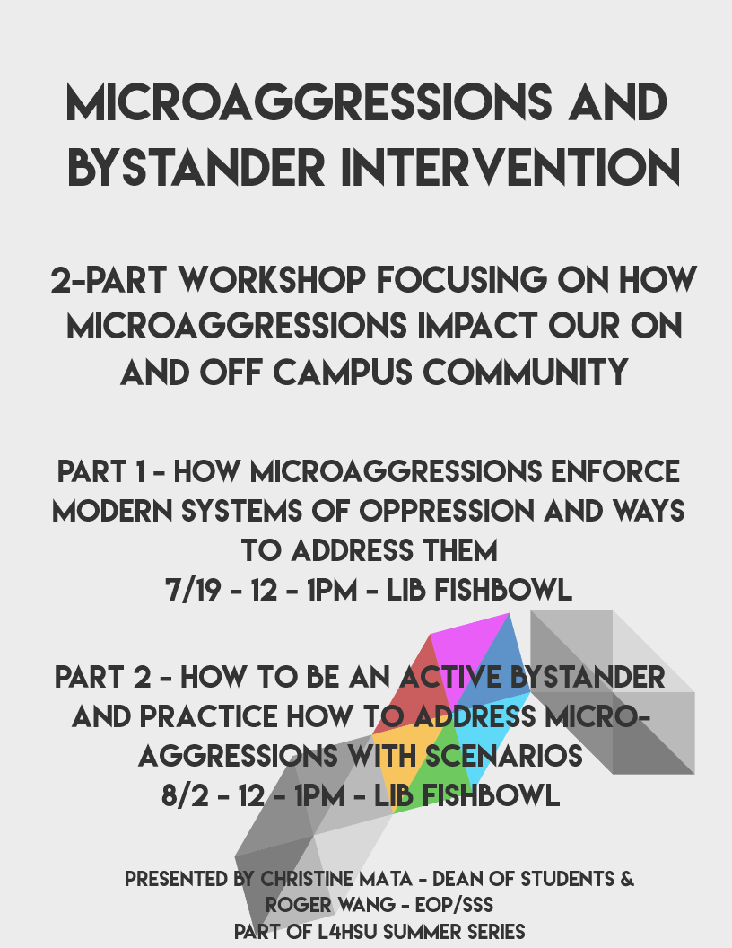 Microaggressions and Bystander Intervention - Part 2