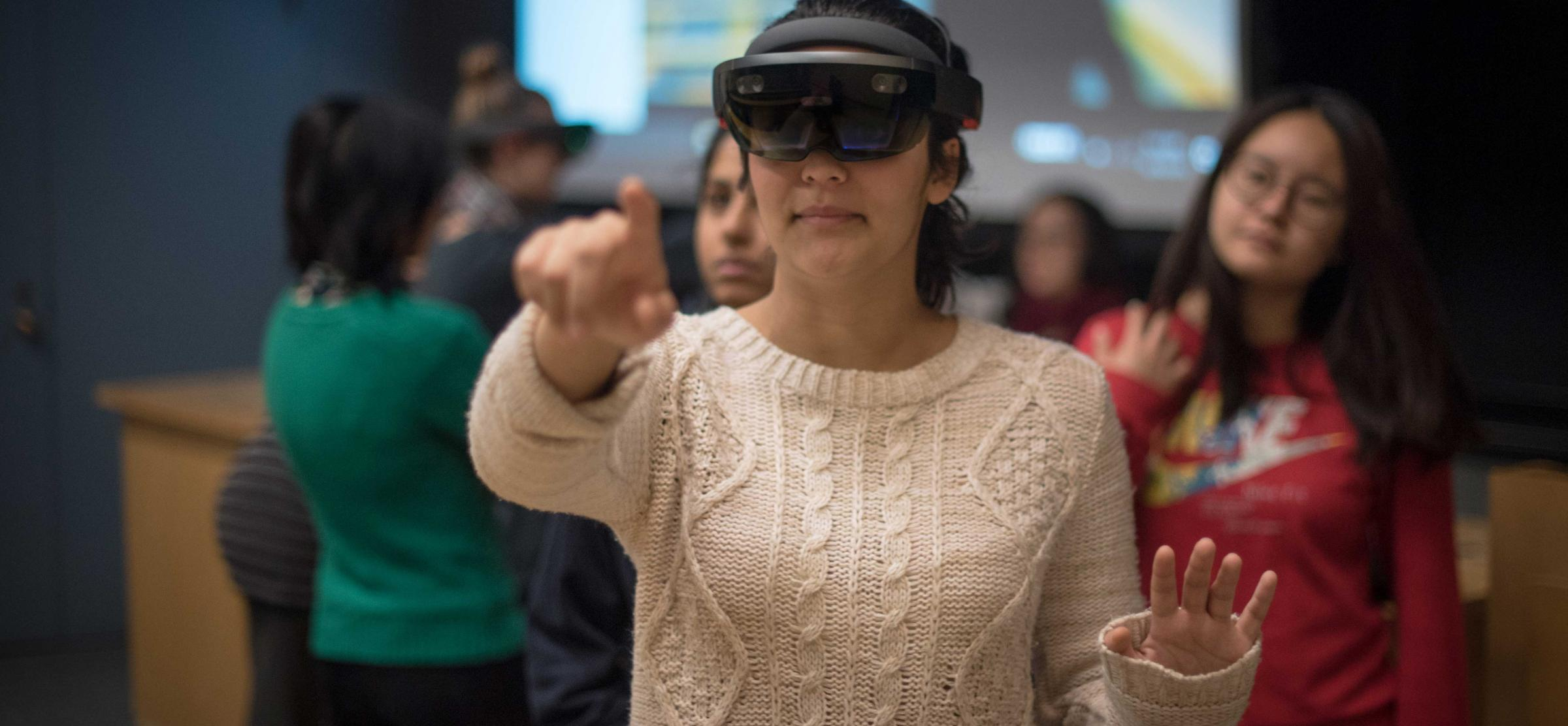 Tech Talk: The HoloLens and Mixed Reality in the Classroom