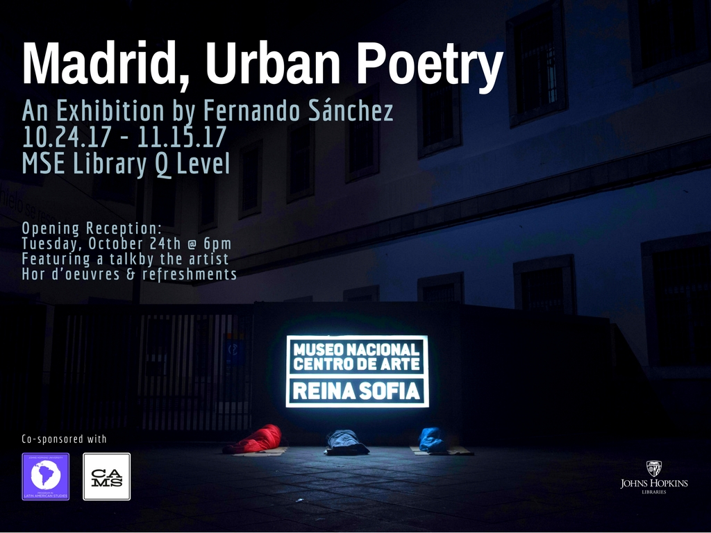 Opening Reception for MADRID, URBAN POETRY, A Fernando Sánchez Exhibition