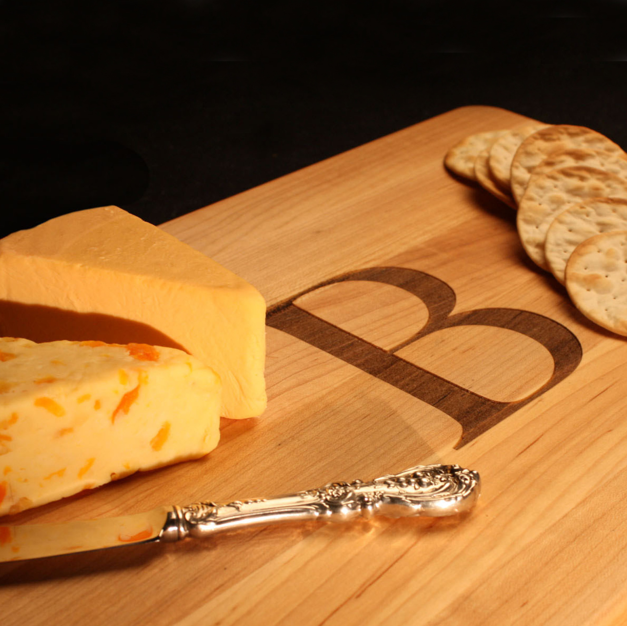 Laser Engrave a Customized Cheese Board