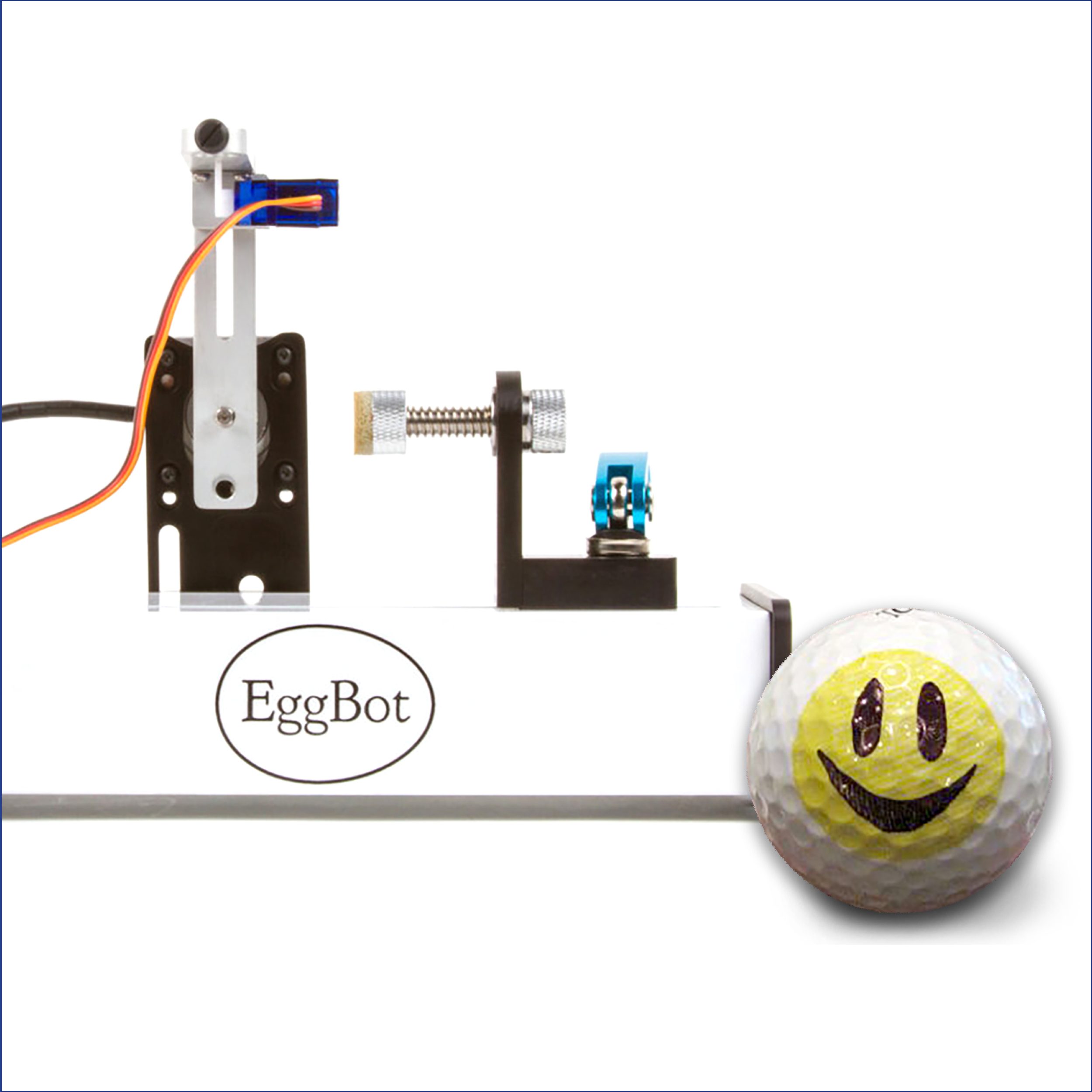 Decorate a Golf Ball with EggBot