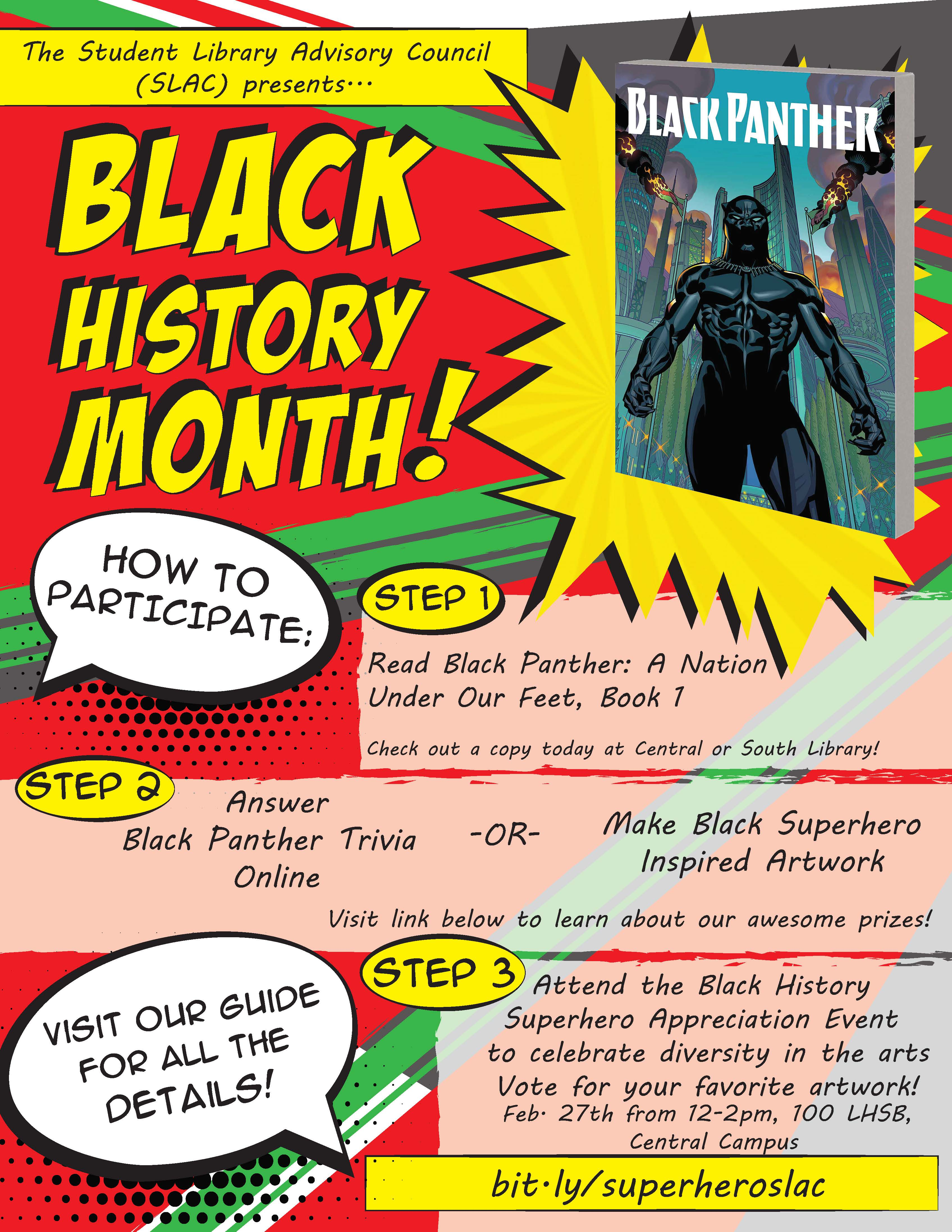 All month at Central Campus Library