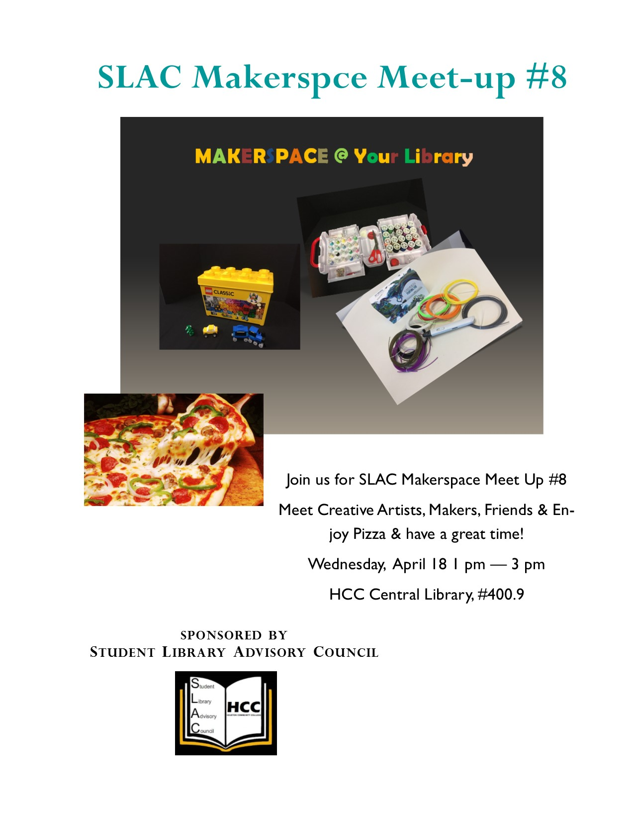 SLAC Makerspace Pop-up Series #8