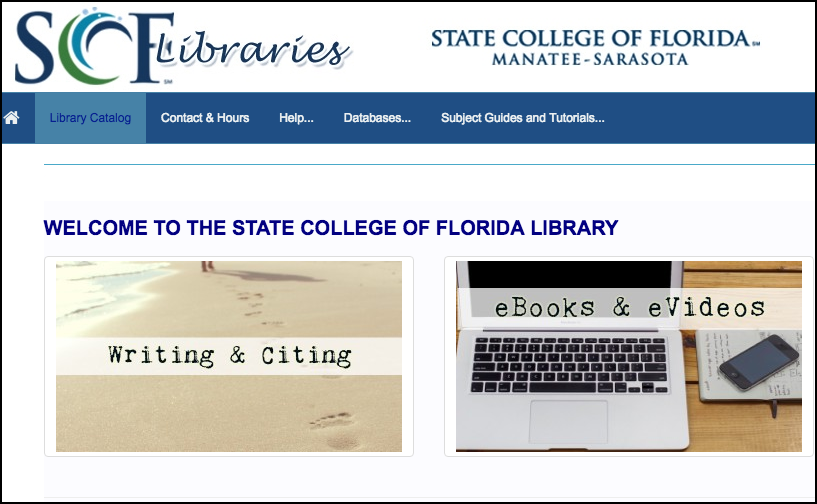 State College of Florida: Connecting with Distance Learners