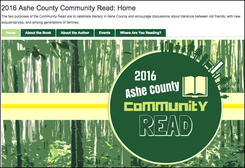 Ashe County Library: 2016 Reading Challenge