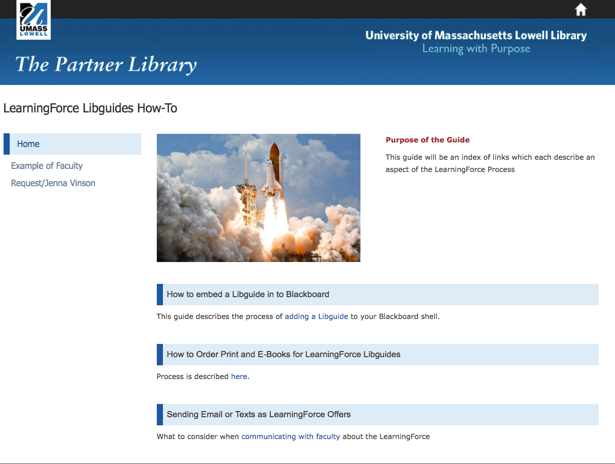 UMass Lowell: Creating LearningForce