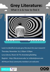 Grey Literature: What it is and How to Find it!