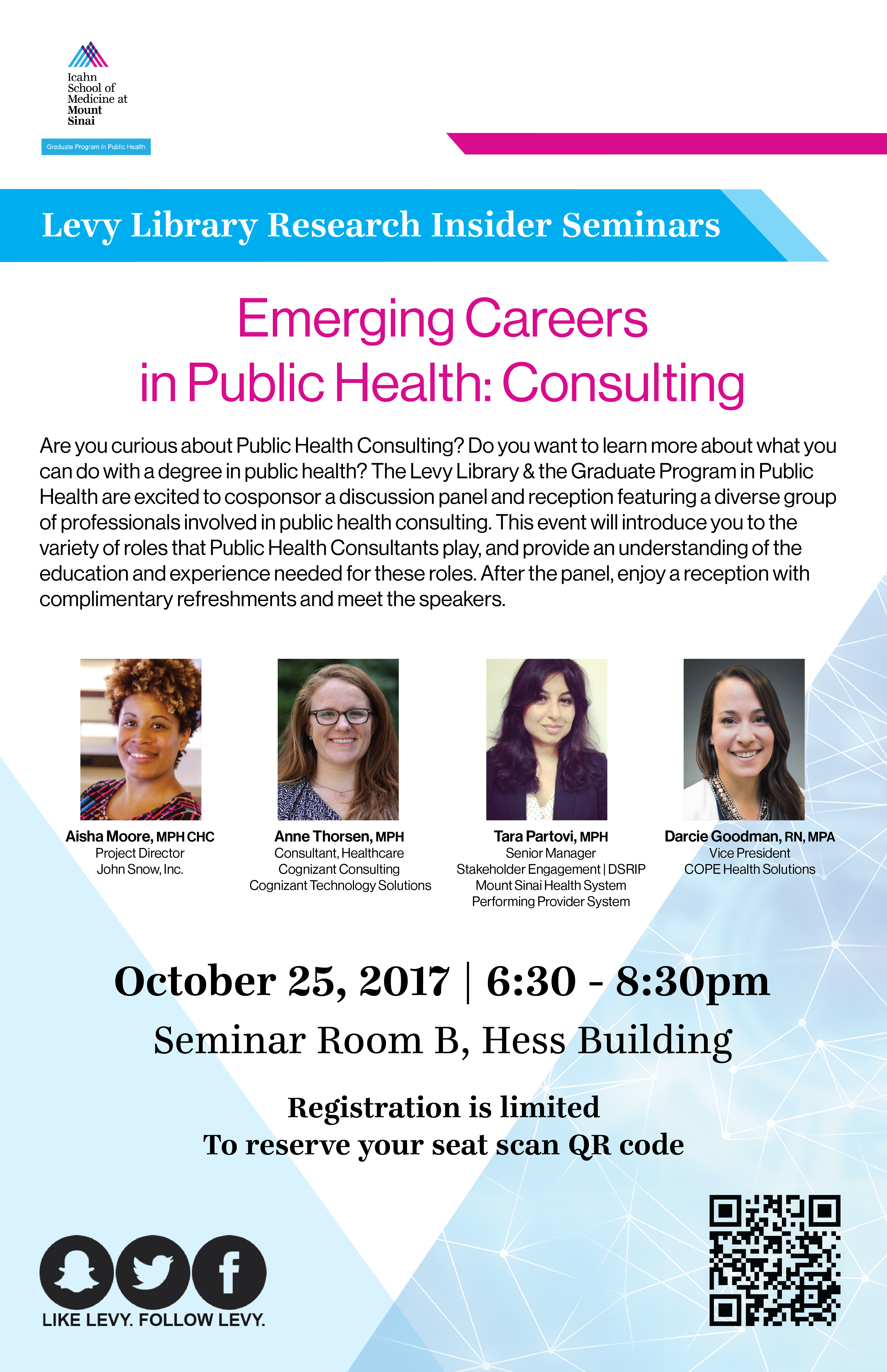 Emerging Careers in Public Health: Consulting