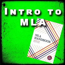Intro to MLA