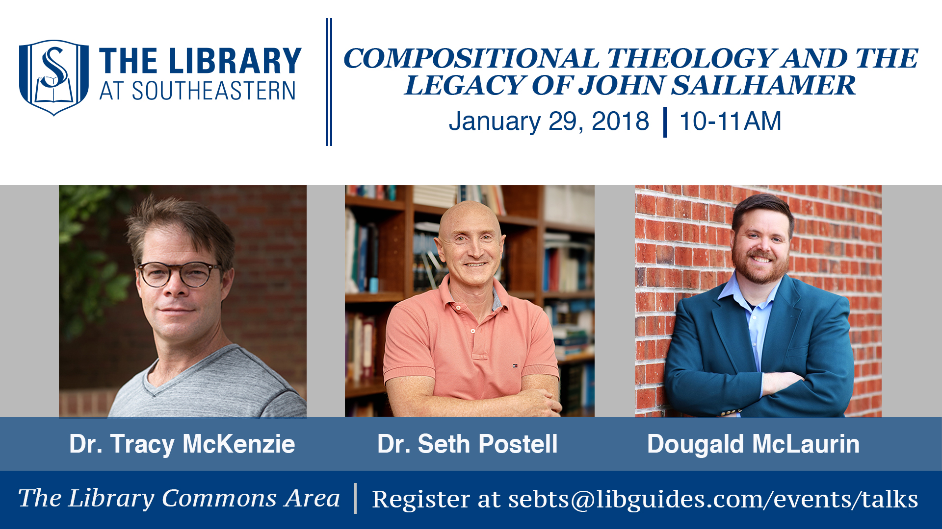 Library Talk: Compositional Theology and the Legacy of Dr. John Sailhamer