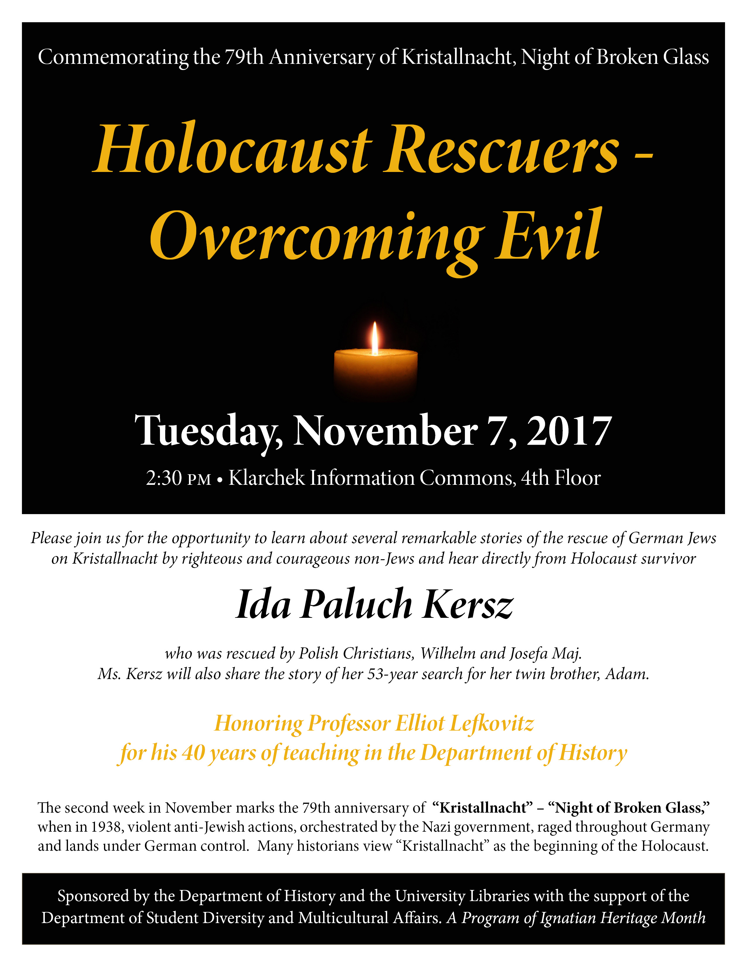 Holocaust Rescuers - Overcoming Evil