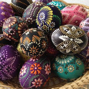 Lithuanian Egg Decorating
