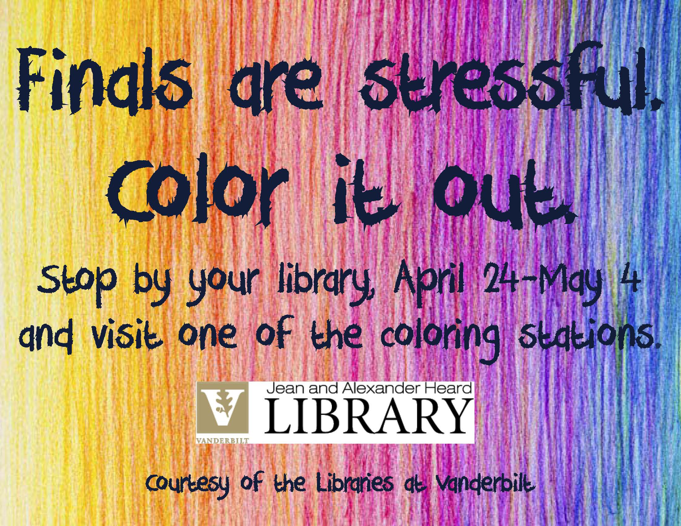 Coloring in the Library!