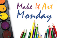 Make it Art Monday at the Medford Library
