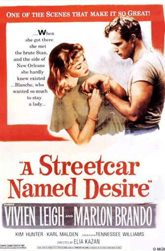 "Monday Movie Classics: ""A Streetcar Named Desire"""