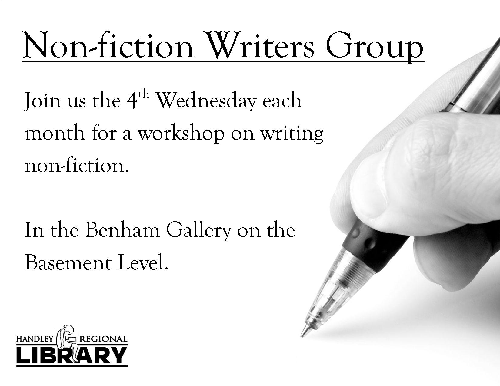 Non-Fiction Writers Group