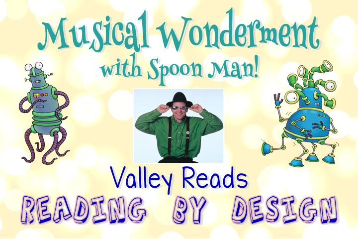 Musical Wonderment with Spoon Man @ CCL