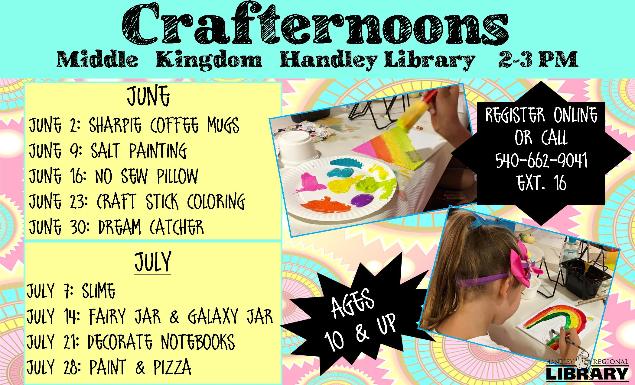 Crafternoons- HL