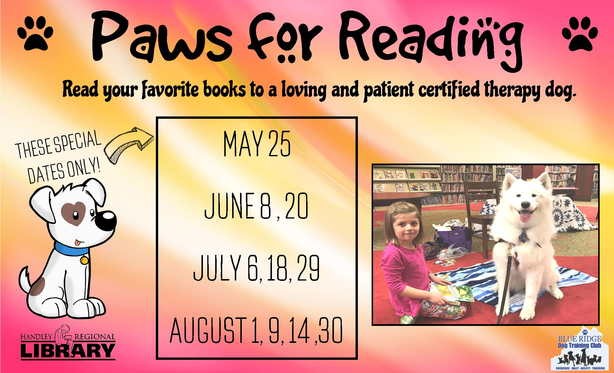 Paws for Reading- HL