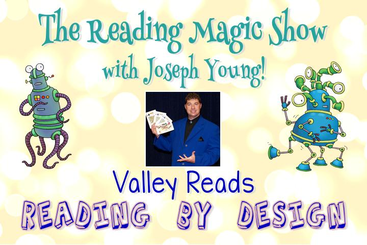 The Reading Magic Show with Joseph Young @ CCL