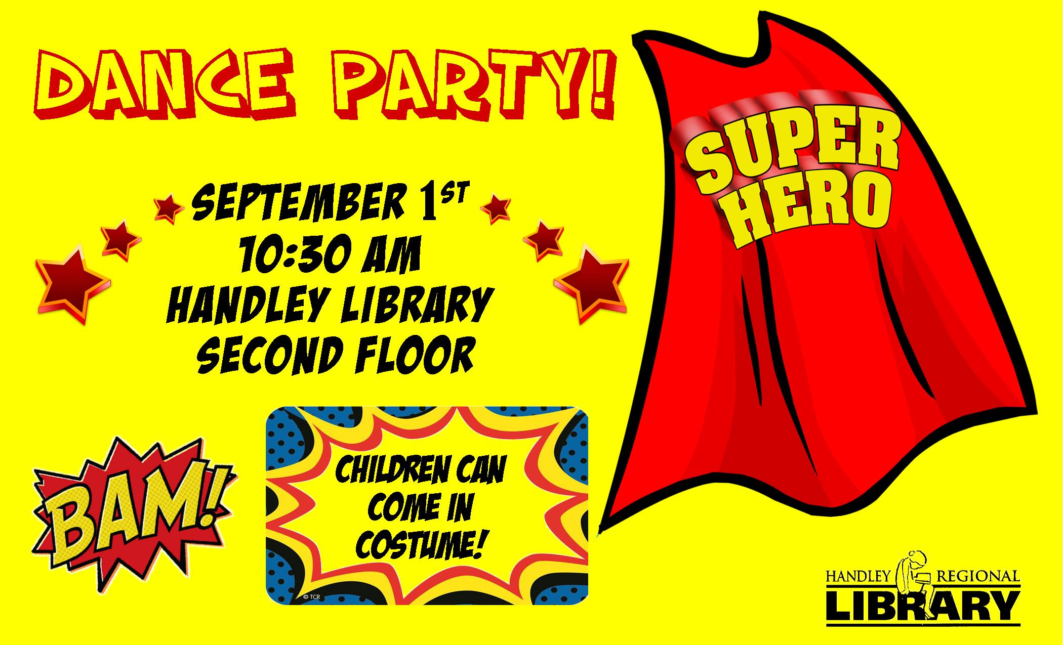 Superhero Dance Party! HL