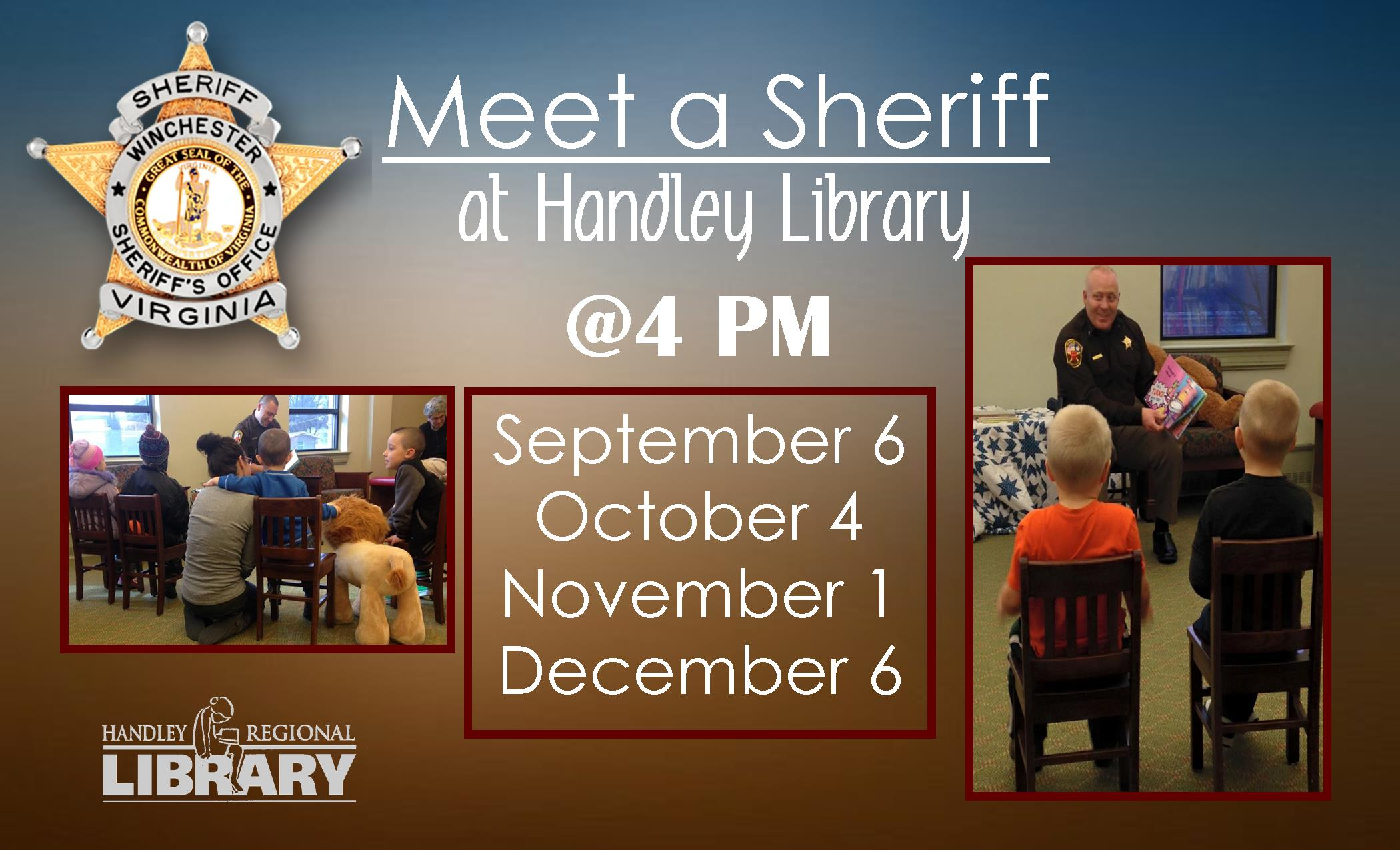 Meet a Sheriff!