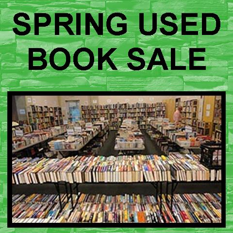 Spring Used Book Sale - Preview Night