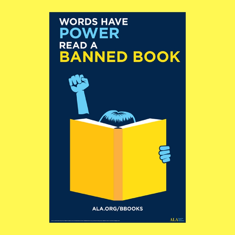 Banned Books Week Photo Booth