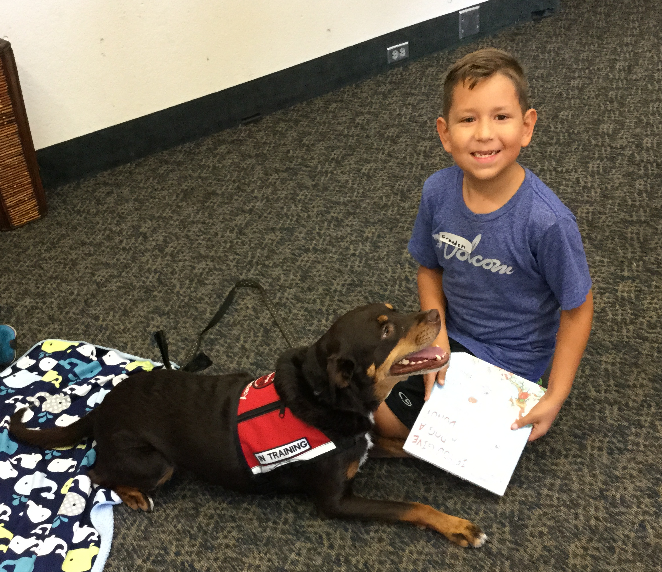 Read to a Dog ages 4 -12