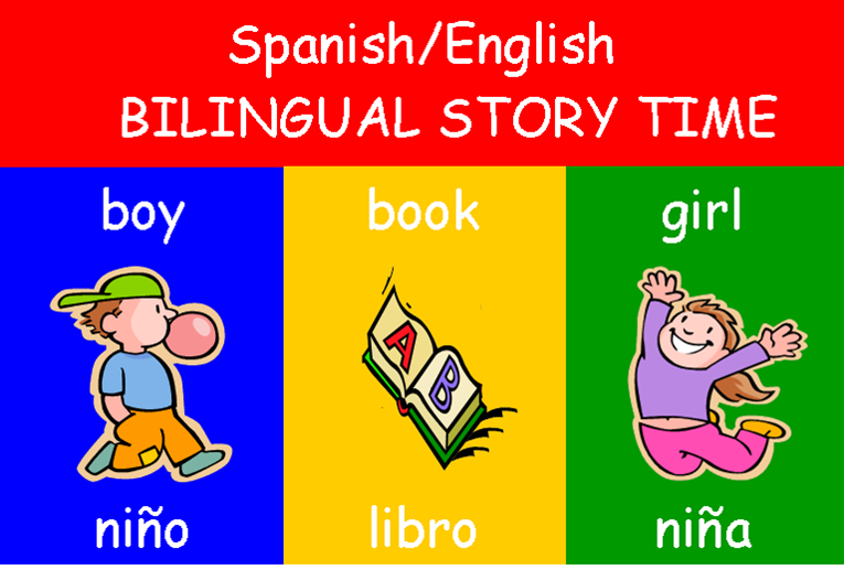 Bilingual Spanish/English Storytime (for ages 1 to 3)