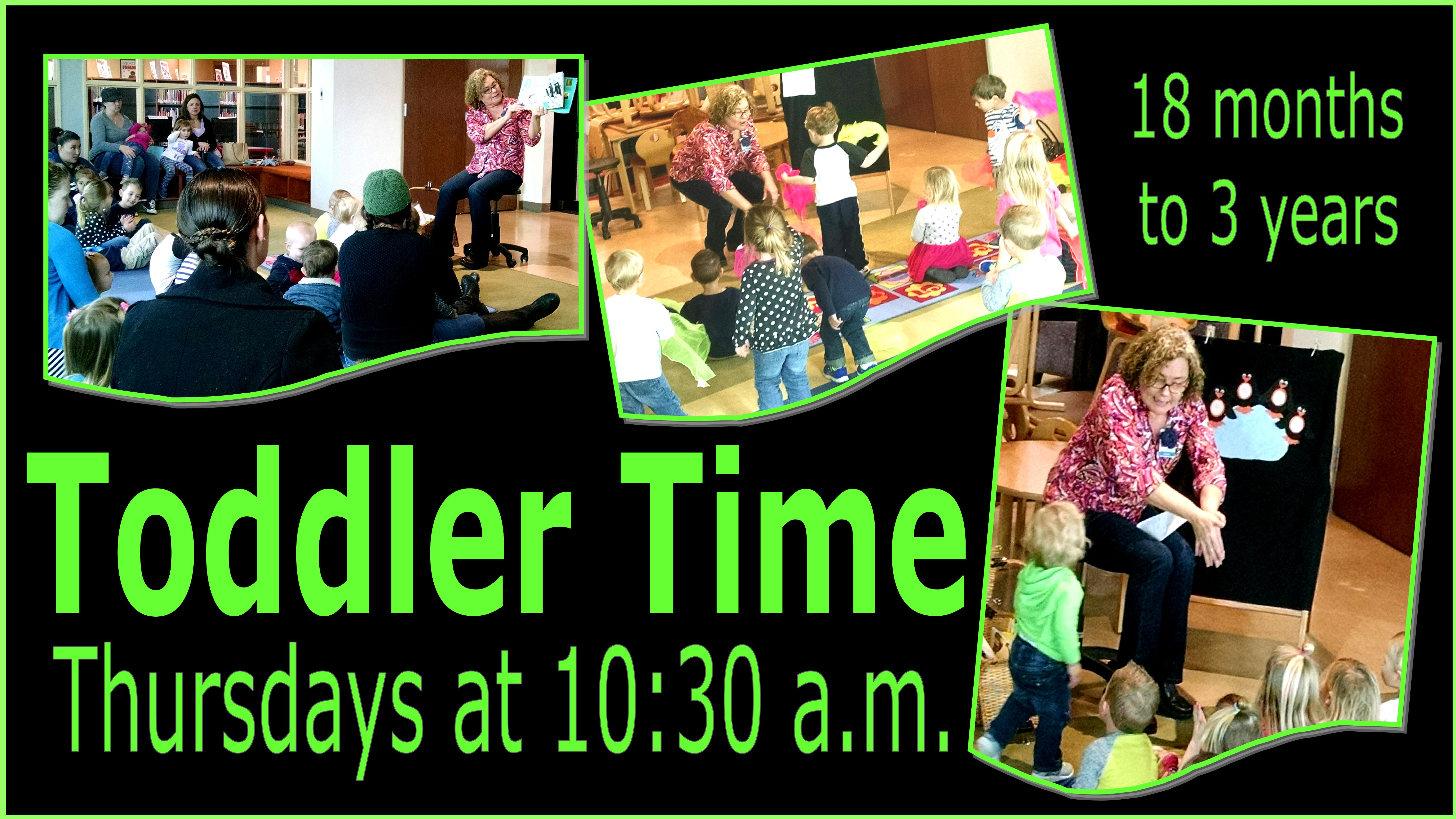 Toddler Time/Stay & Play