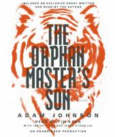 Washoe Reads: The Orphan Master's Son by Adam Johnson.
