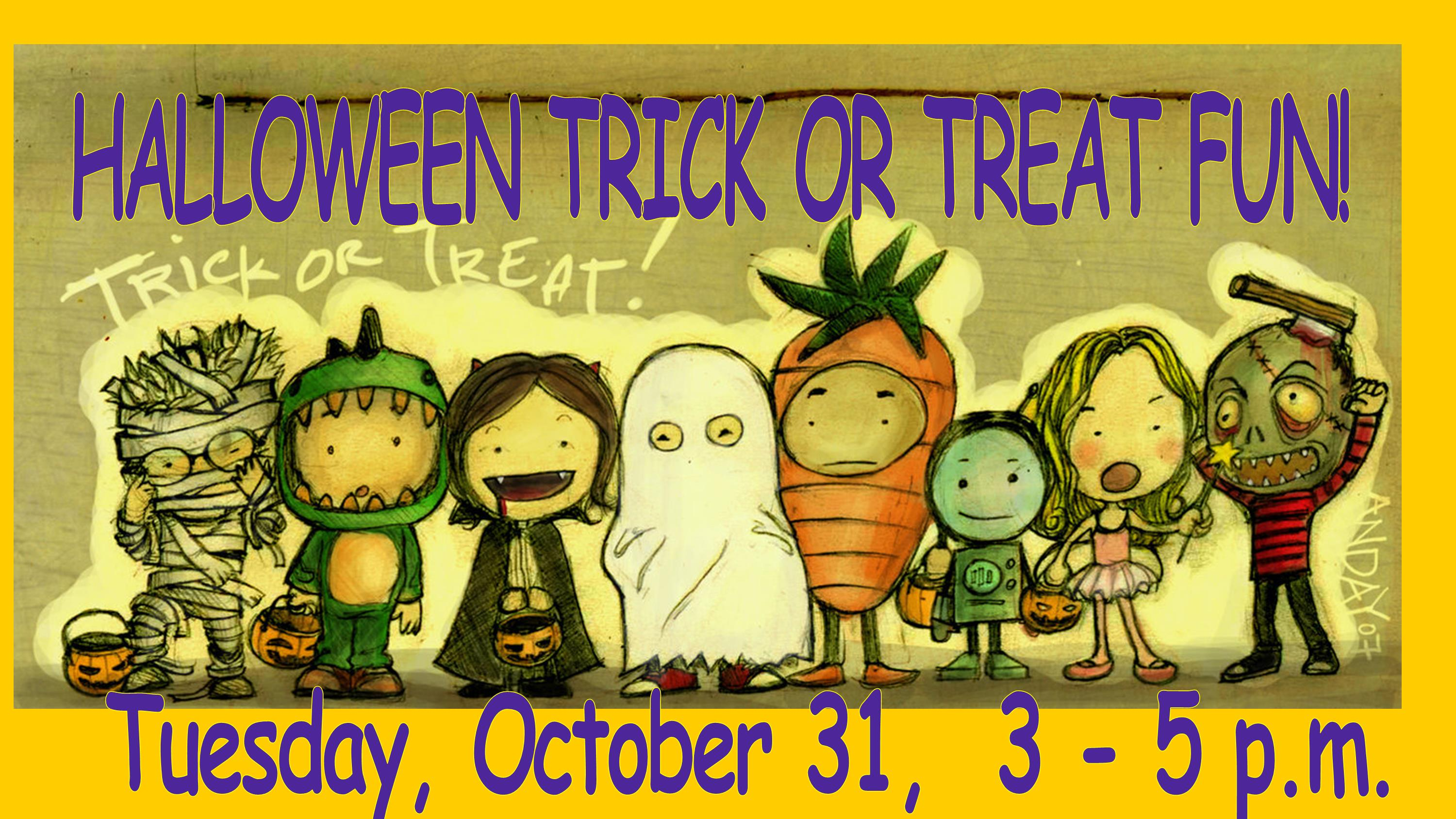 Halloween Trick-Or-Treat Fun!