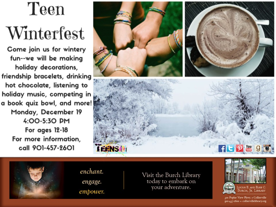 Teen Winterfest Party