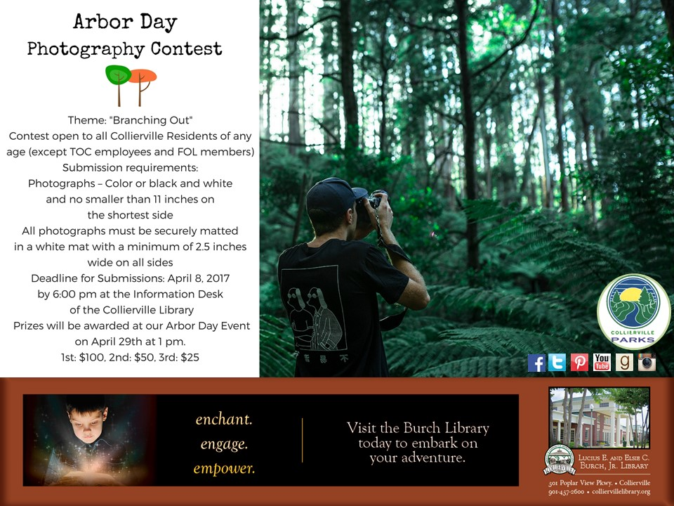 Arbor Day Photography Contest