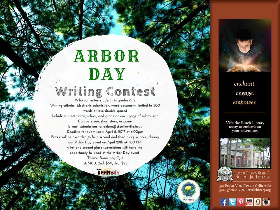 Arbor Day Writing Contest